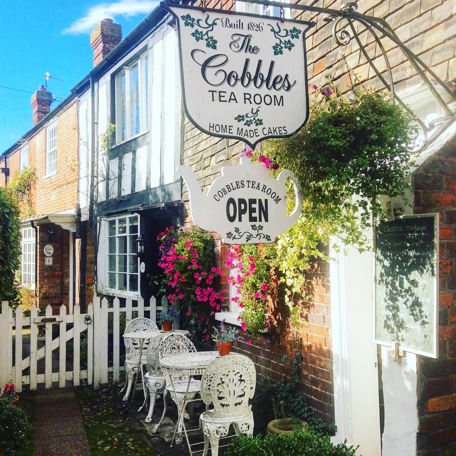 The Cobbles Tea Room, Rye