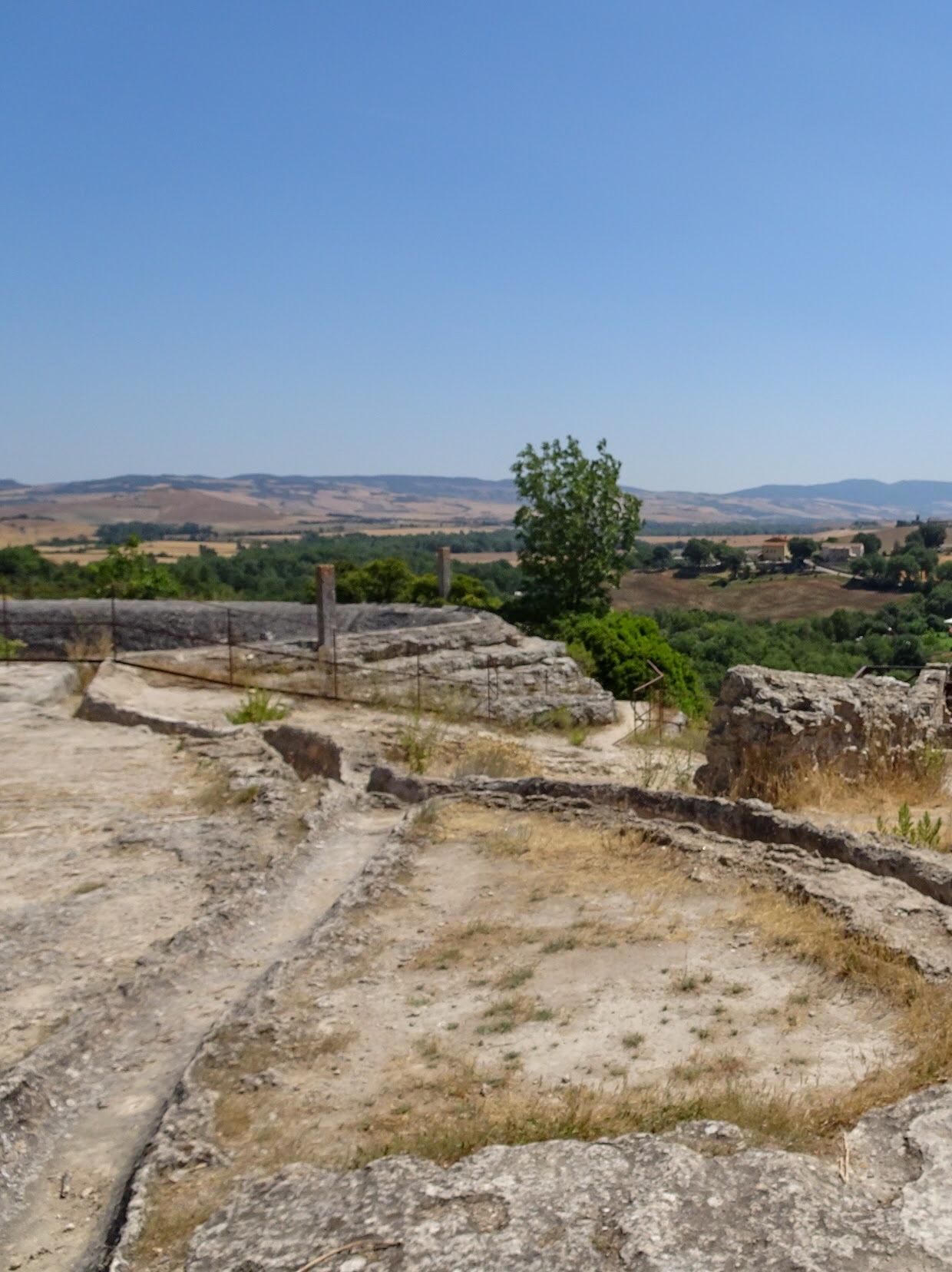 View from Bagno Vignoni