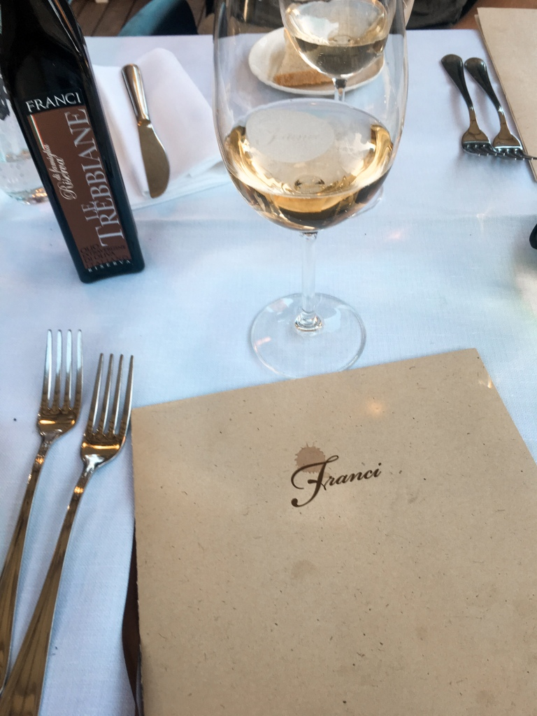 Restaurant Franci in Montalcino, Italy