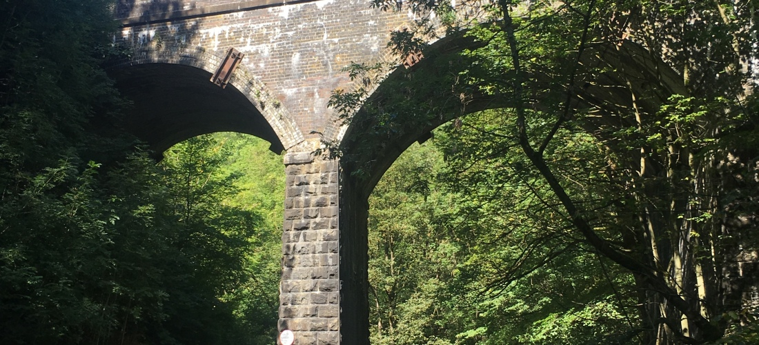 The Viaduct, Chee Dale walk, Derbyshire