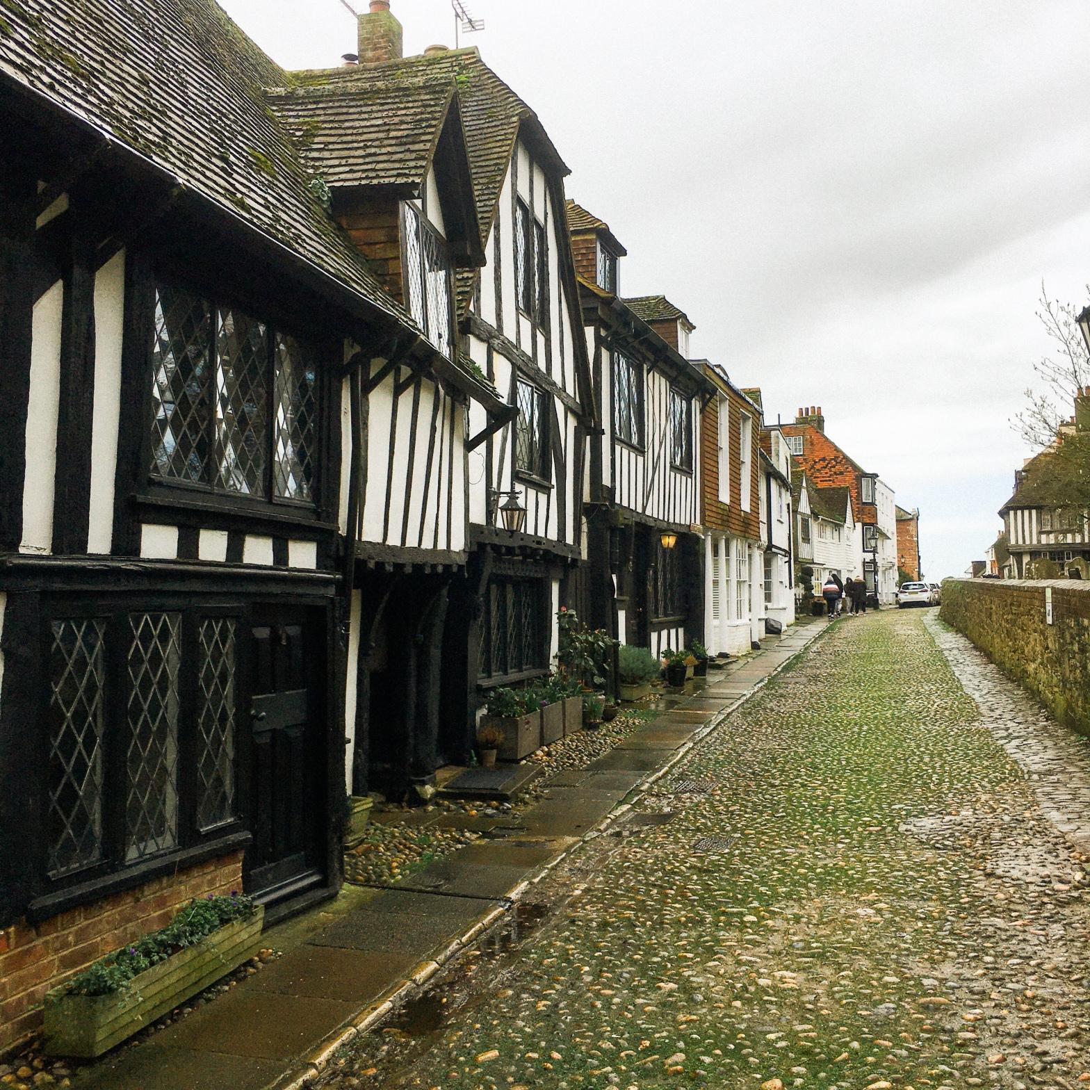 Cobbled street in Rye